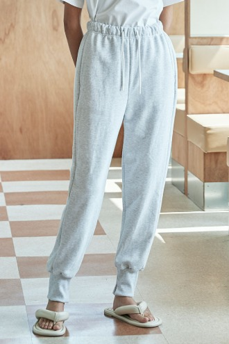 Bijou Jogger Pants_Light Grey